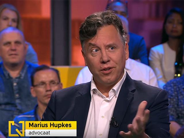 Marius Hupkes bij Kassa (BNN/VARA)