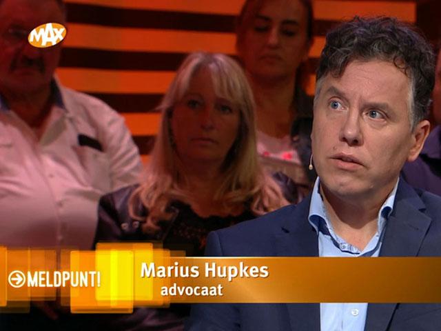 Marius Hupkes in de media