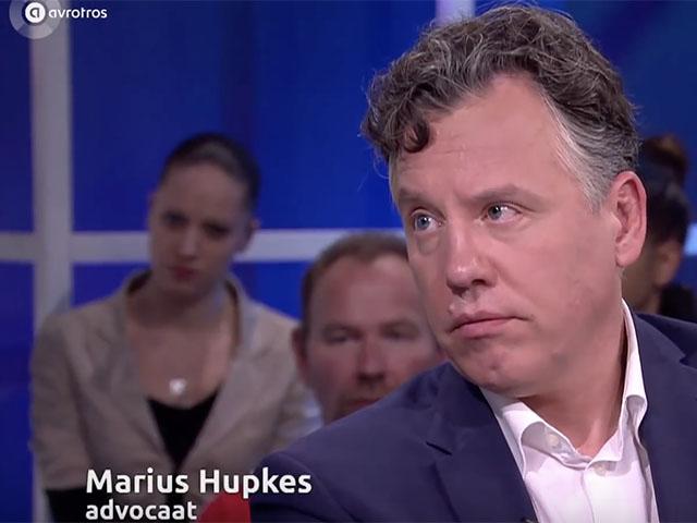 Marius Hupkes bij Opgelicht (AVRO/TROS)